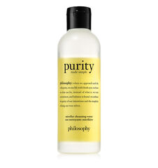 philosophy, purity made simple micellar water, main