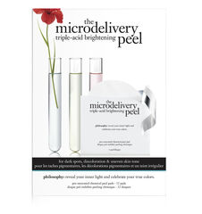 philosophy, microdelivery triple-acid brightening peel pads, main