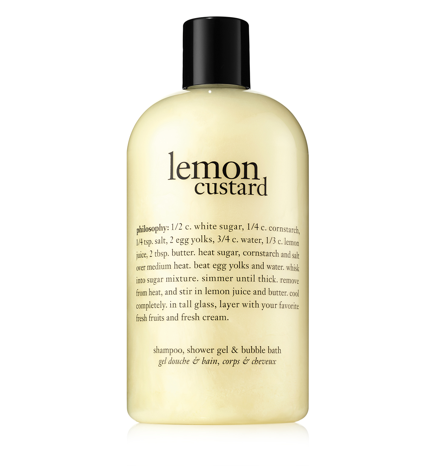 Lemon Custard Shower Gel Philosophy