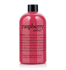 philosophy, raspberry sorbet shower gel