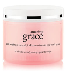 amazing grace perfumed hot salt, tub and shower scrub