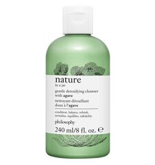 nature in a jar gentle detoxifying cleanser with agave