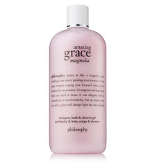 amazing grace magnolia shampoo, bath & shower gel
