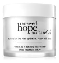 renewed hope in a jar spf 30 refreshing & refining moisturizer broad spectrum spf 30 sunscreen
