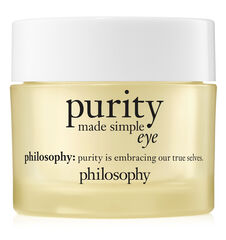 purity made simple eye gel