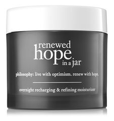 renewed hope in a jar overnight recharging & refining moisturizer