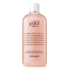 amazing grace ballet rose shampoo, bath & shower gel