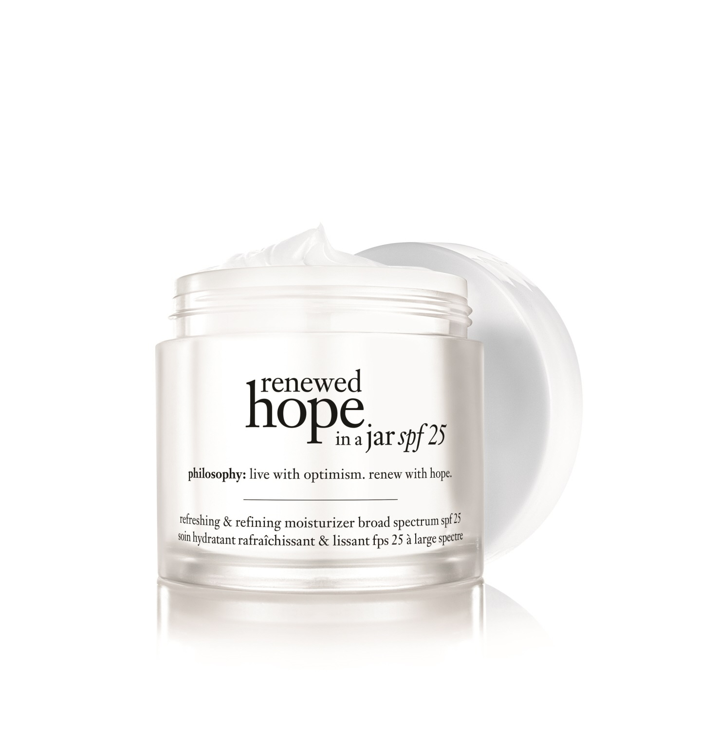 philosophy, renewed hope in a jar spf 25 refreshing & refining moisturizer broad spectrum spf 25