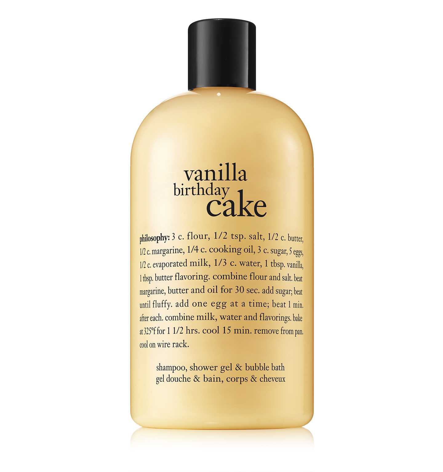 philosophy, vanilla birthday cake shower gel