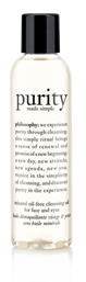 purity made simple mineral oil-free facial cleansing oil for face and eyes